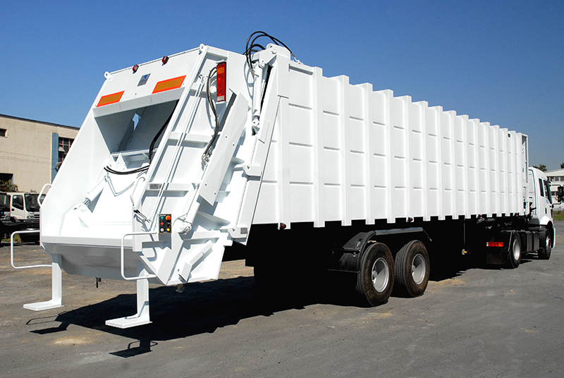 Garbage Semi Trailer – ACDS